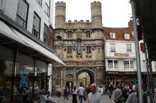 Canterbury,Cathedral Gate, Kent © Ian Baker